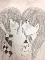 Request: Bethy and Aura by CeciBvB