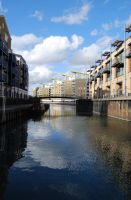 Limehouse canal by Puckmonkey
