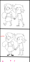 [Comic]-I never leave you alone, bro-bro(Part 1) by blanbinny
