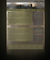 BF2 Clanwebsite design by Crosseout