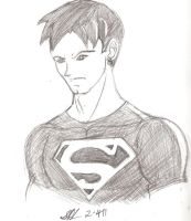 Superboy young justice style by leo-darkheart