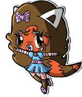 Rouge the Red Panda 2 by Crystal-Moore