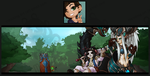 Twitter Icon and Banner Commission Set - Srharg by MaloKing