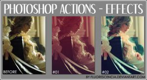 Photoshop Actions - Effects by fluorescencia