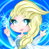 Elsa by PixelatedFairy