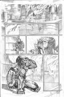BvP page 1 Pencils by acarabet
