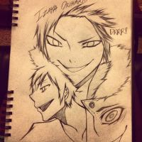 The Many Faces of Izaya Orihara. DRRR!! by CryKunAnime