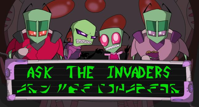Ask the Invaders banner by dansdaughter