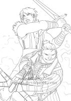 DA2 - Men of Action by aimo
