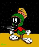 Marvin the Martian by bayoubabelsu