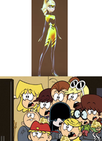 Loud Sisters Stunned at Chloe Becoming Queen Bee by JasonPictures