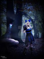 Alice In The Enchanted Forest by charligal