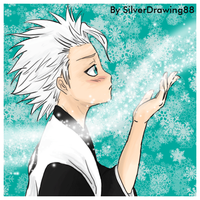 Toshiro gif by SilverDrawing88