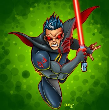 DARTH STAHL Superman by Dreekzilla