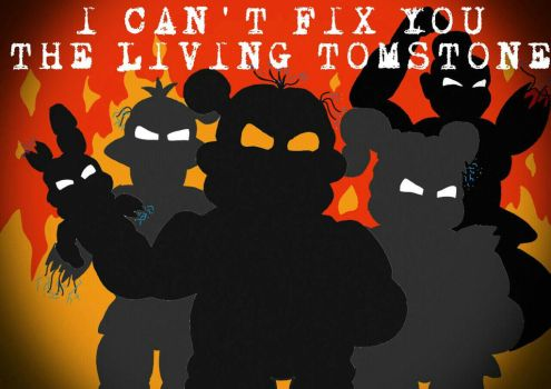 I Can't Fix You The Living Tombstone wallpaper by xXShadowTiger20Xx