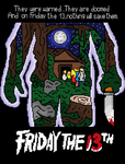Friday the 13th (1980) cover by Pvt-Arturo