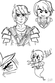 Cole doodles by Keo56
