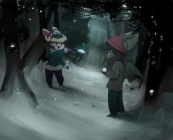 Snowfight by CarligerCarl