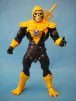 Yellow Lantern Skeletor by cusT0M