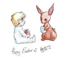 Easter Contest Entry no.5 by RabbitClub