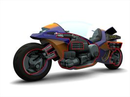 Extreme-G 3 Bike cutaway by Scarecrovv
