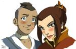 COMMISH-- AVATAR Sokka+Azula by DarkChildx2k