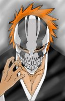 Vizard Ichigo by AsherothTheDestroyer
