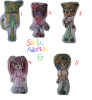 Random Sonic Adopts :D CLOSED by LillyTheSeedrian