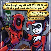 The Age of Nerd - Deadpool Best Pickup Line by RockyDavies