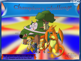 Champion's Challenge Poster by Threehorn