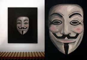 Anonymous Vendetta by Leconte