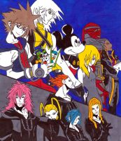 kh chain of memories by frecklesmile