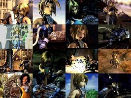 Zidane Collage by TheReaverOfDarkness