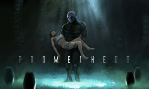 Prometheus fan-art by jchery