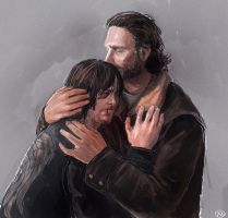 The walking dead - Care by maXKennedy