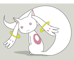 Kyubey by Hyper-Dream