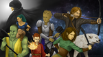 Dungeons and Dragons in Space by MikazukiRisa