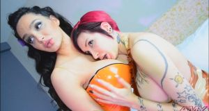 Amy Anderssen and I by Ariane-Saint-Amour