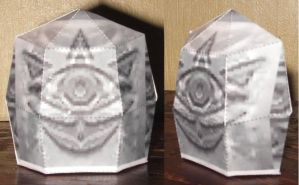 Legend of Zelda: Gossip Stone by paperart