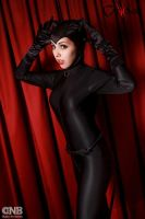 Catwoman (Selina Kyle) by FlorBcosplay