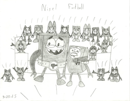 Mixels - Nixel Football Night by worldofcaitlyn