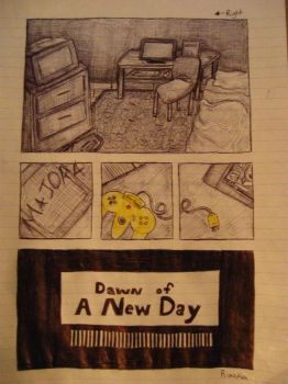 Dawn of a New Day Page 1 by Rixaka