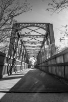 Lindsborg, Ks Bridge by freyaka