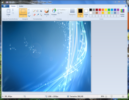 Windows 7 paint by Add7