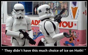 Stormtrooper Ice Cream by masimage