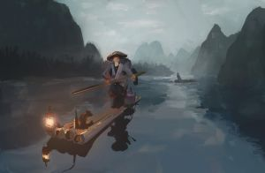 Fisherman by MattJWood