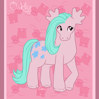 Pony Friends - Oakly the Moose by HellLemur
