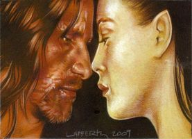 Aragorn and Arwen by JeffLafferty