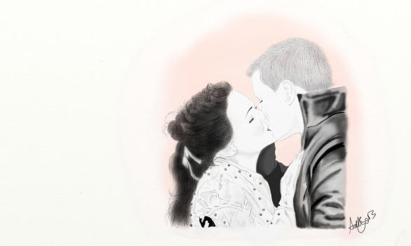 Our First Wedding: Snow White and Prince Charming by iiRawrKaname