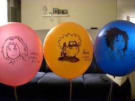 Team 7 balloons by Vanyahani